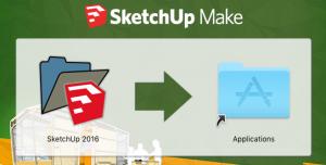 SketchUp-asennus-applications-kansio